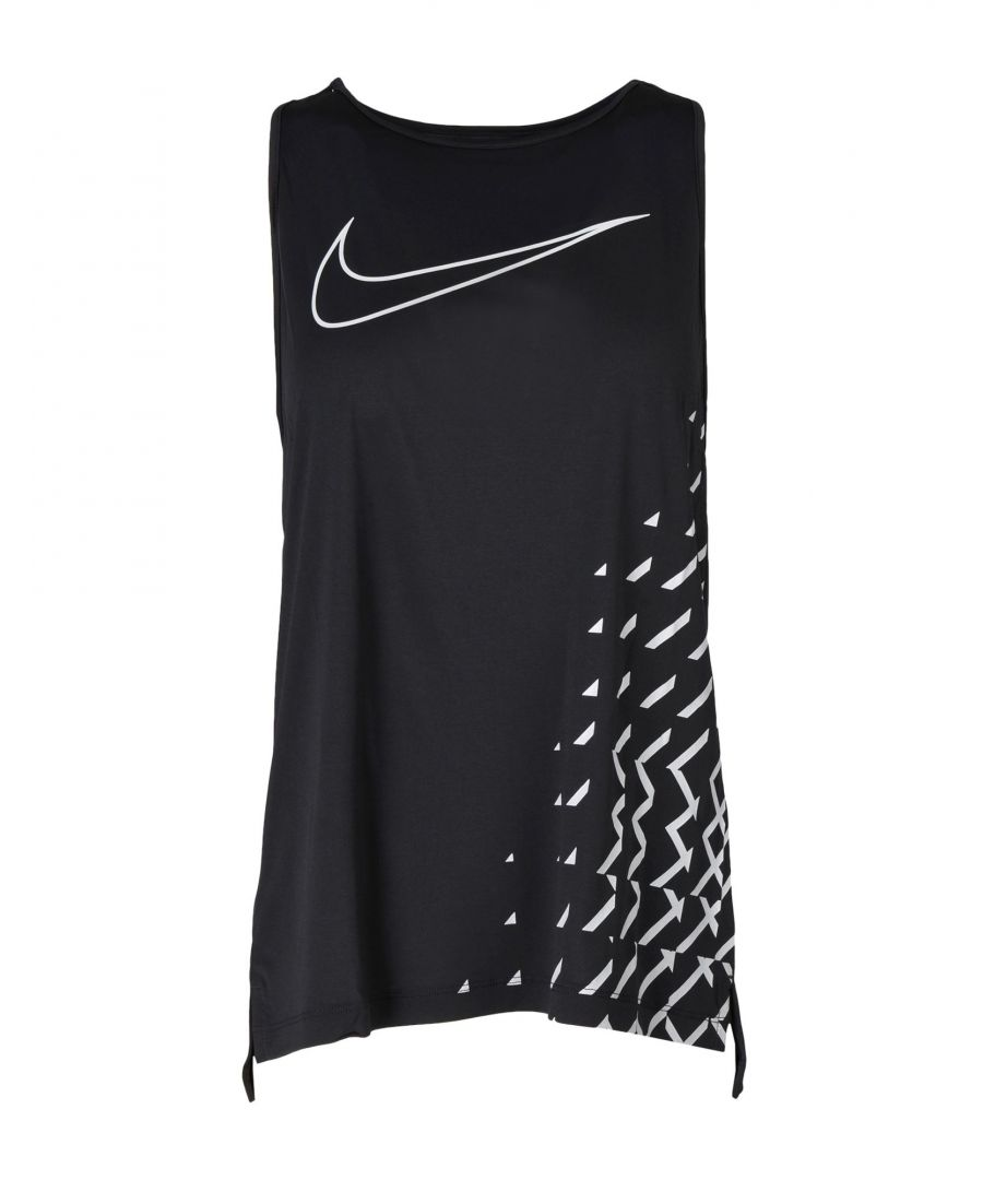Image for Nike Black Polyester Top