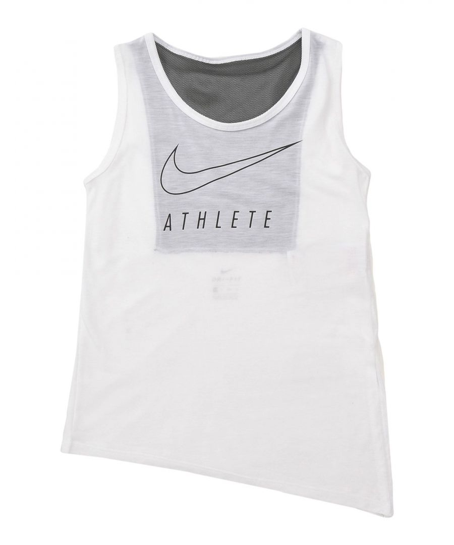 Image for TOPS & TEES Nike White Girl Polyester