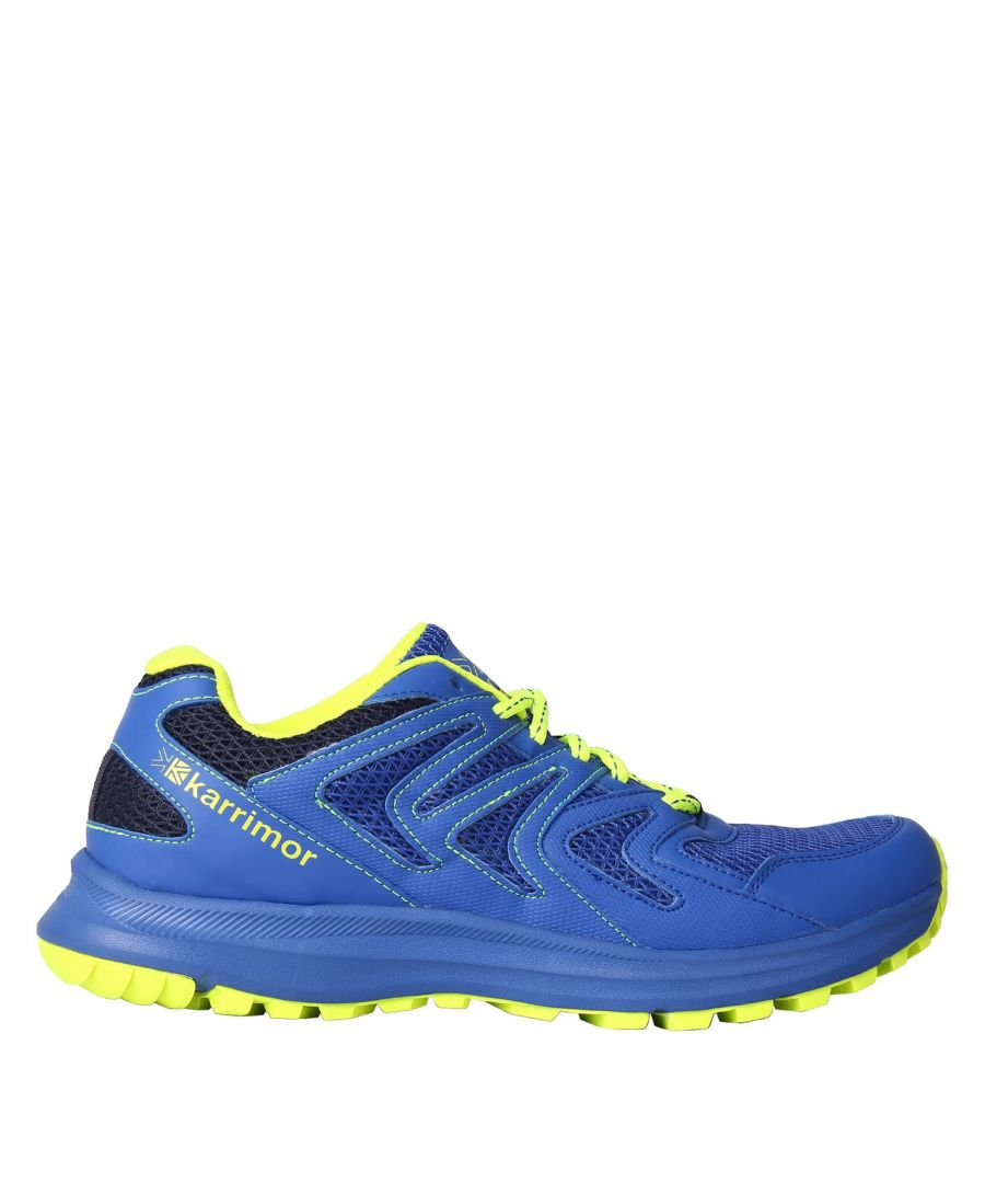Image for Karrimor Mens Caracal Trail Running Shoes Lace Up Breathable Padded Ankle Collar