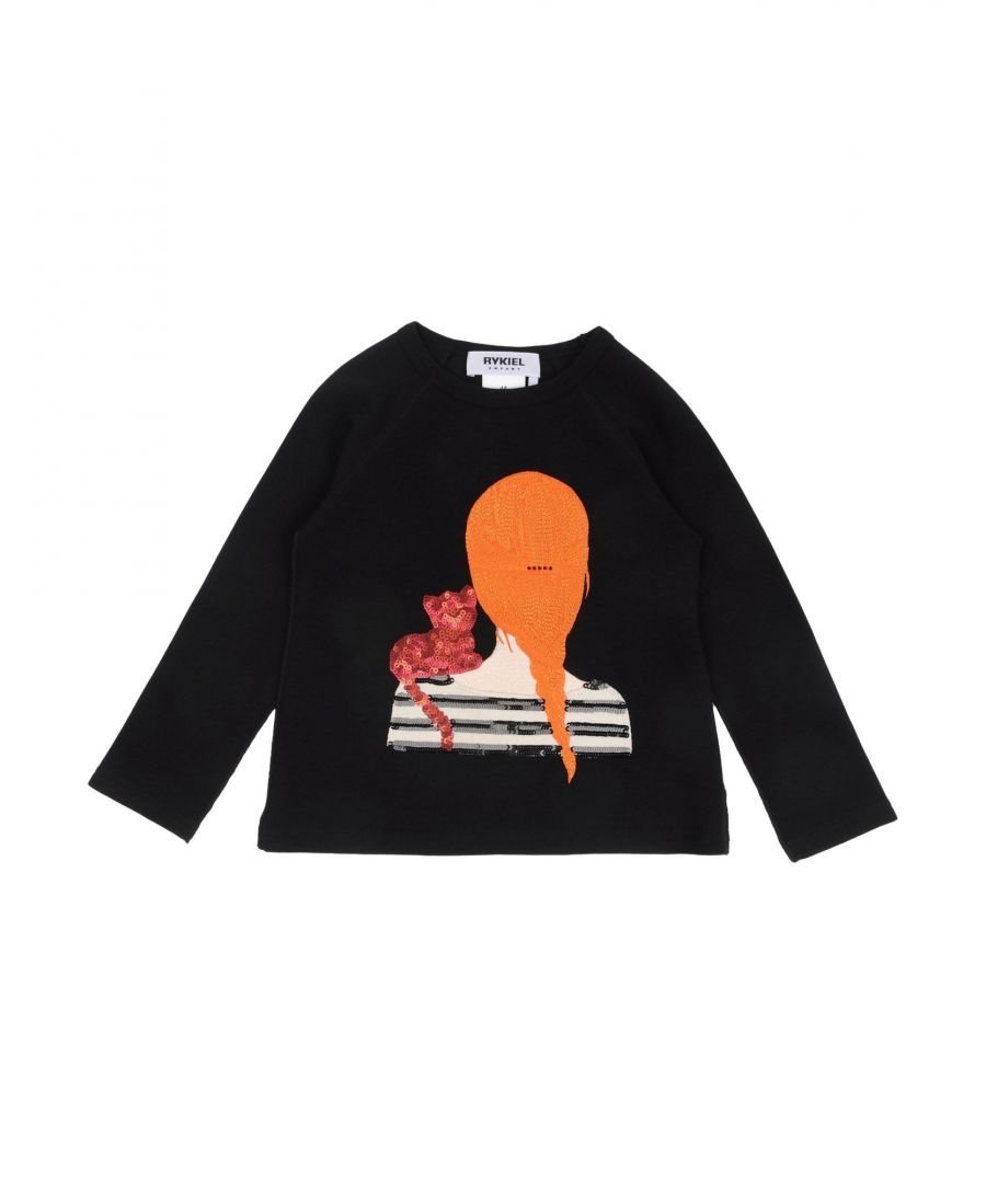 Image for TOPWEAR Rykiel Enfant Black Girl Cotton