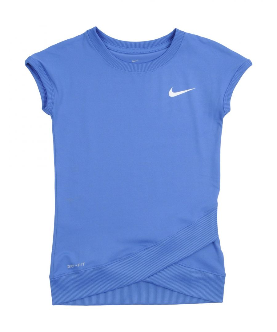 Image for Nike Blue Girl Polyester Top