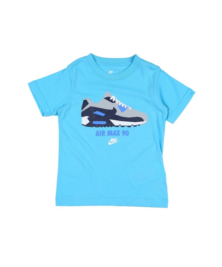 Image for TOPS & TEES Nike Blue Boy Cotton