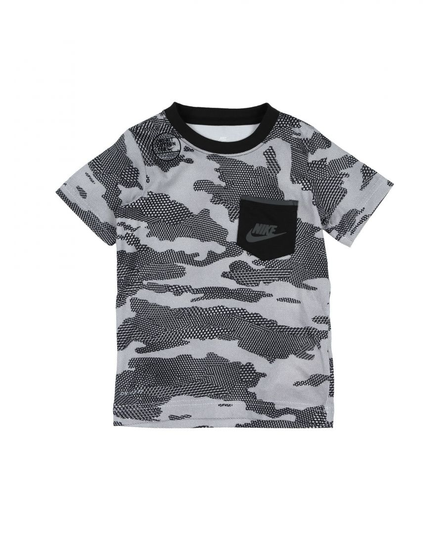 Image for TOPS & TEES Nike Grey Boy Cotton