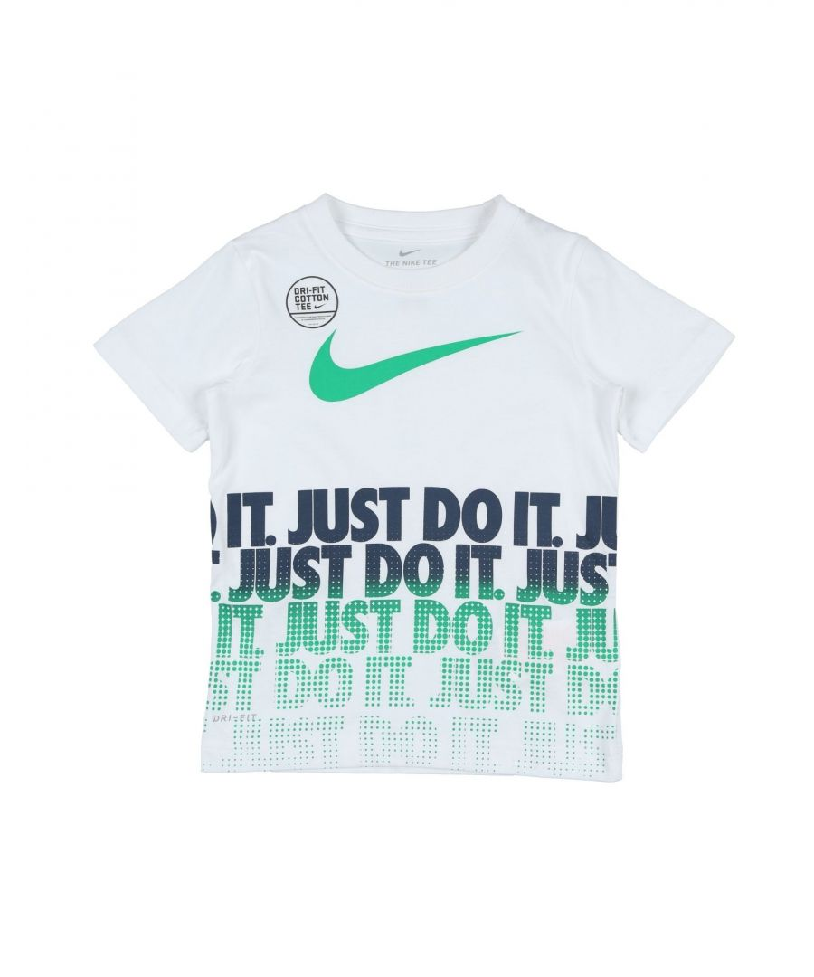 Image for TOPS & TEES Nike White Boy Cotton