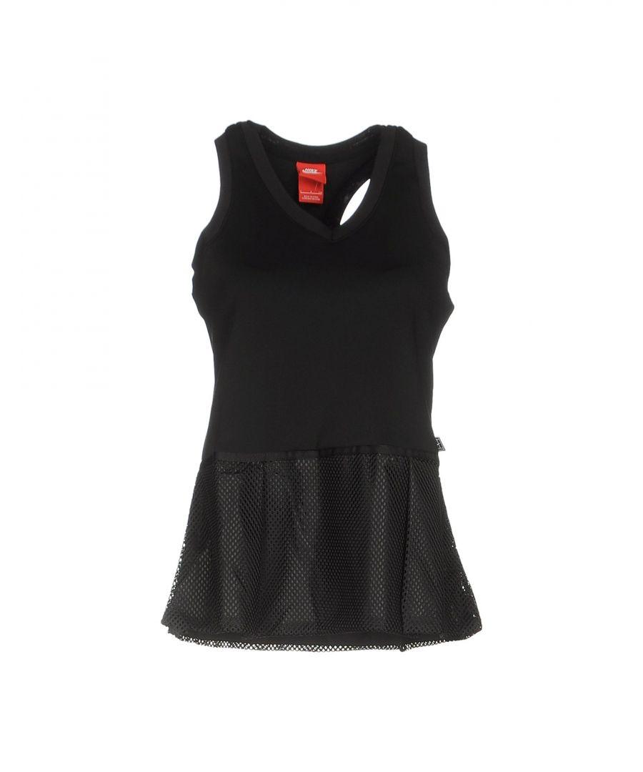 Image for Nike Black Vest Top