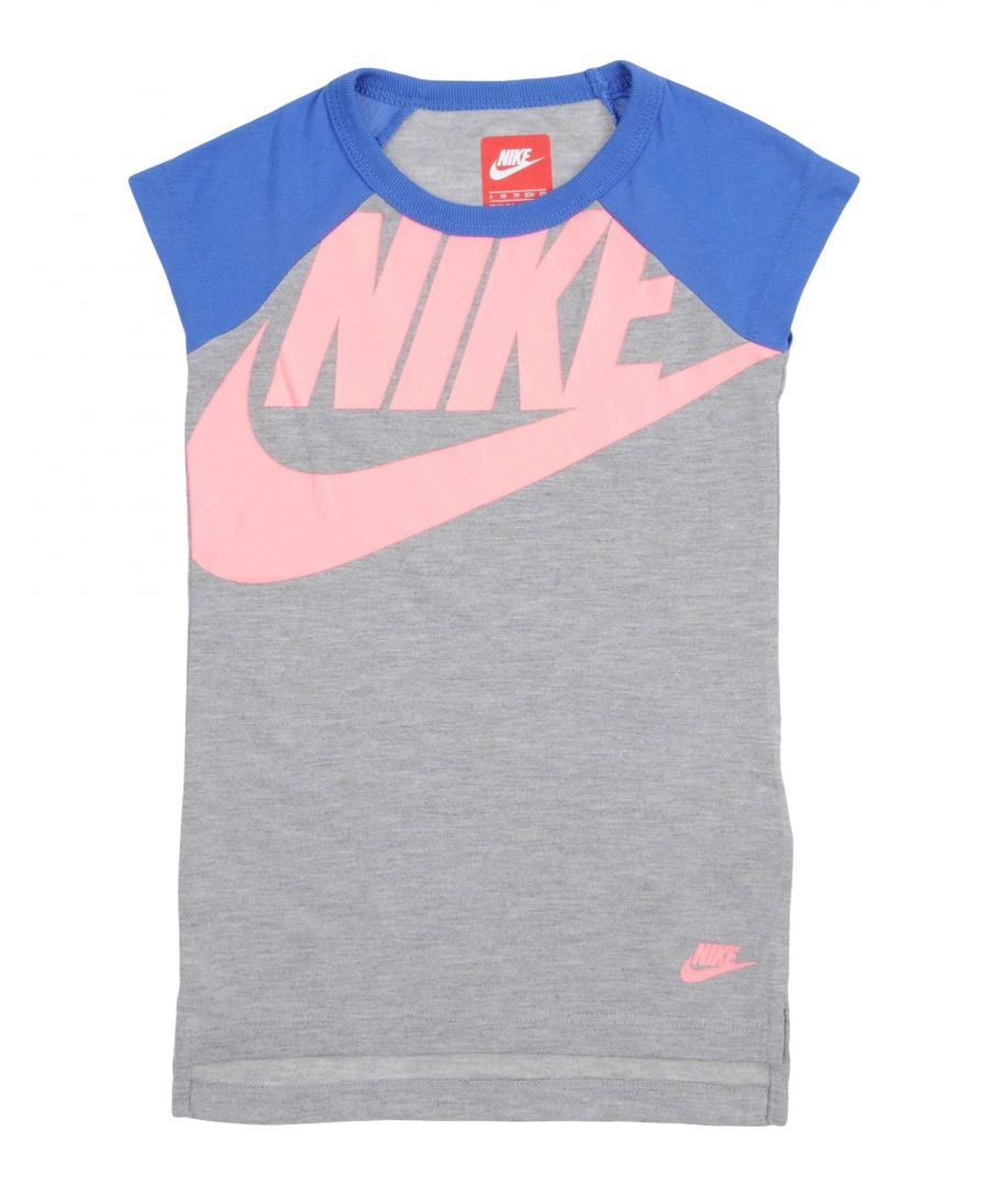 Image for TOPS & TEES Nike Grey Girl Polyester