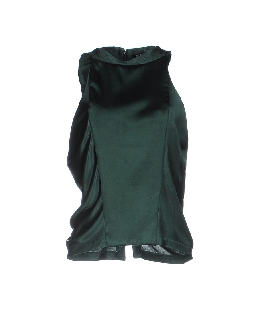 Image for Atlein Green Viscose Tops