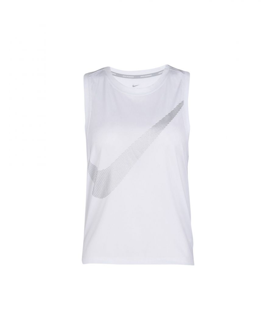 Image for Nike White Polyester Top