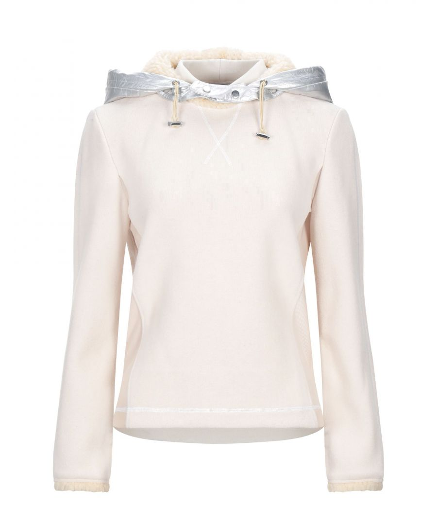 Image for Paco Rabanne Ivory Techno Fabric Hoodie