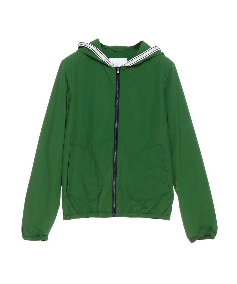 Image for HERNO BOYS GI0038B122627100 GREEN POLYAMIDE OUTERWEAR JACKET