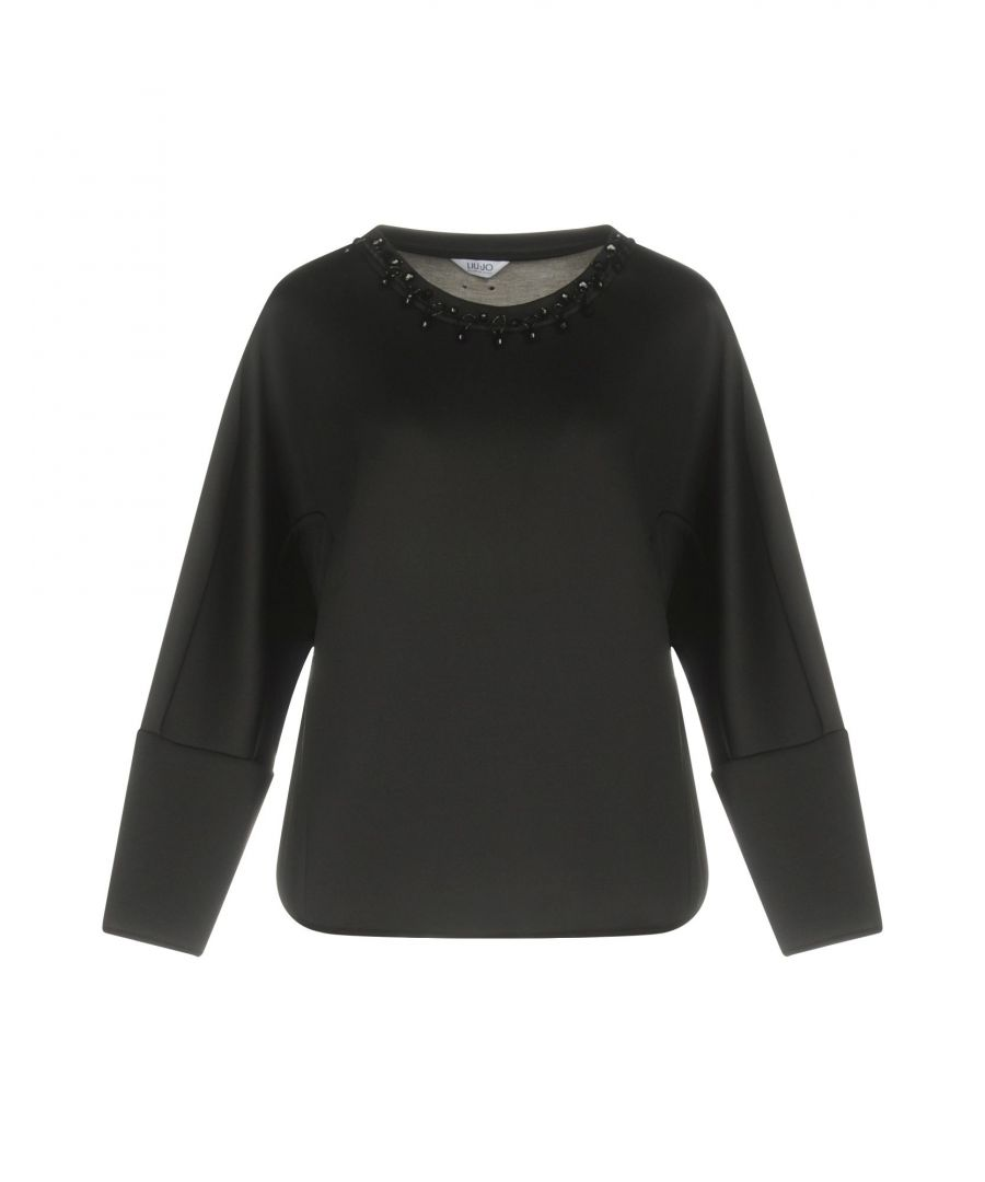 Image for Liu Jo Black Long Sleeve Top