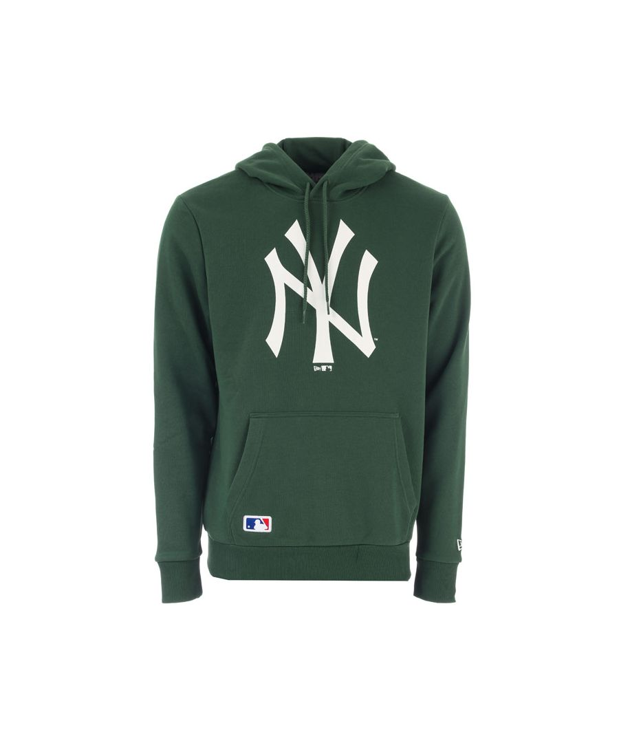 Image for Men's New Era NYY Seasonal Team Logo Hoody in Green