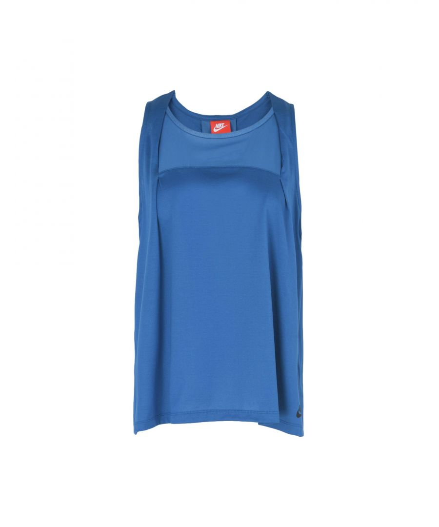 Image for Nike Blue Cotton Top