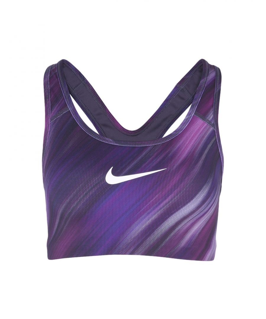 Image for Nike Purple Polyester Top
