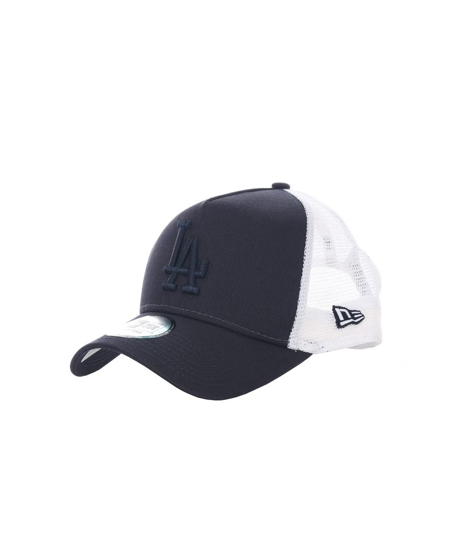 Image for Accessories New Era League A Frame LAD Trucker Cap in Black-White