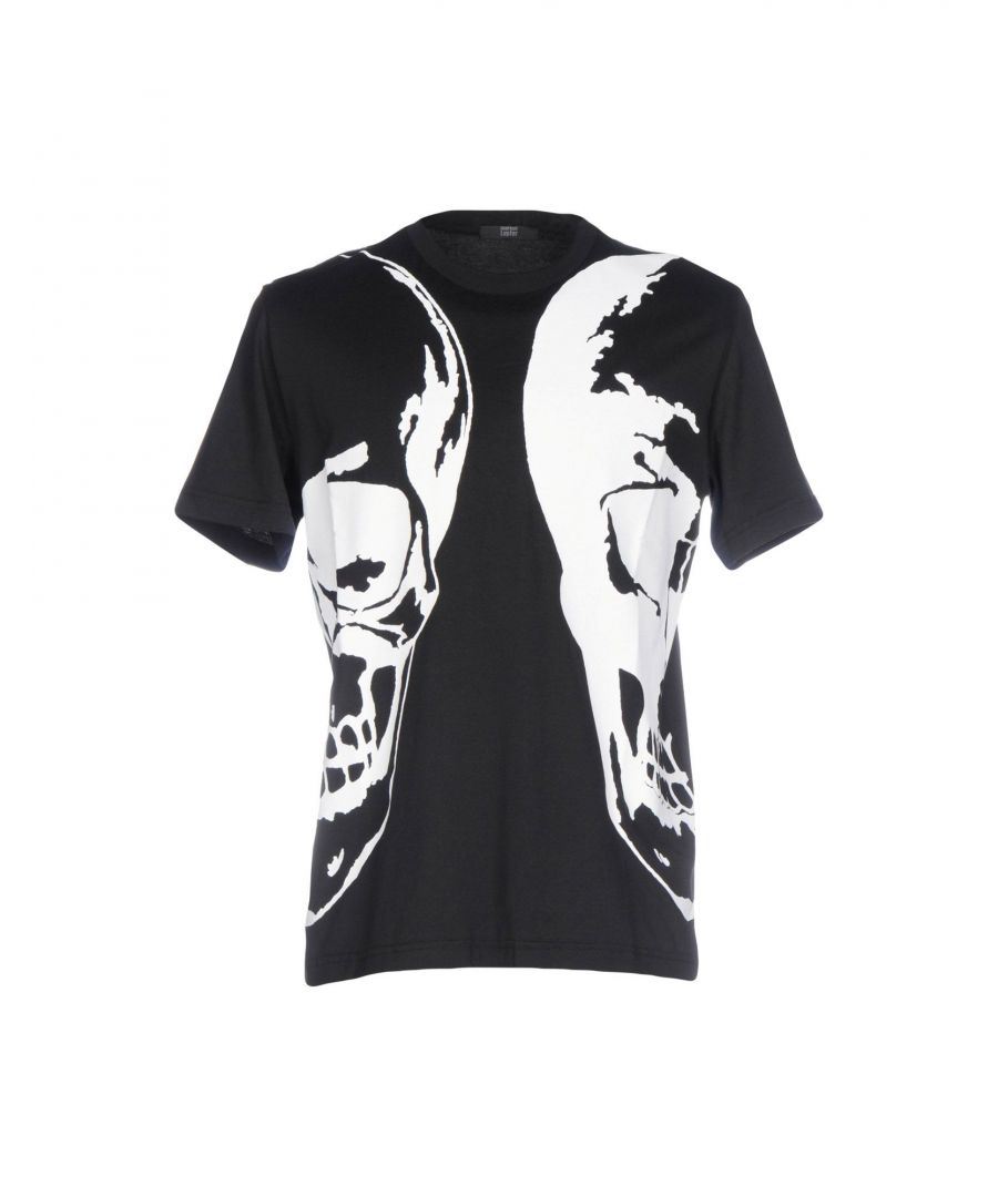 Image for Markus Lupfer Black Print Cotton T-Shirt