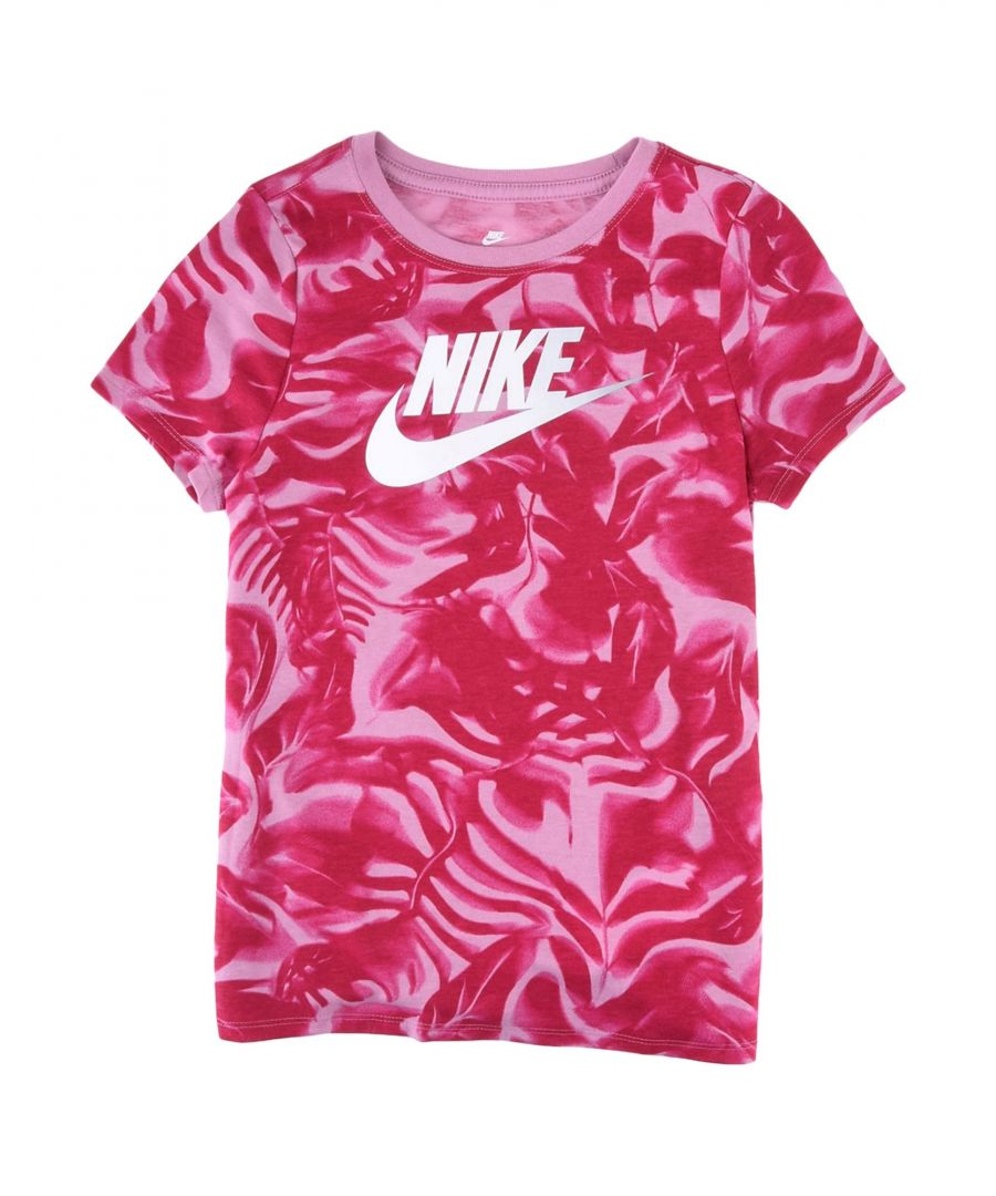 Image for TOPS & TEES Nike Red Girl Polyester