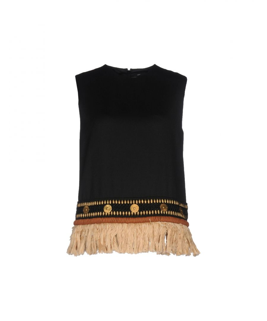 Image for Dsquared2 Black Wool Tops