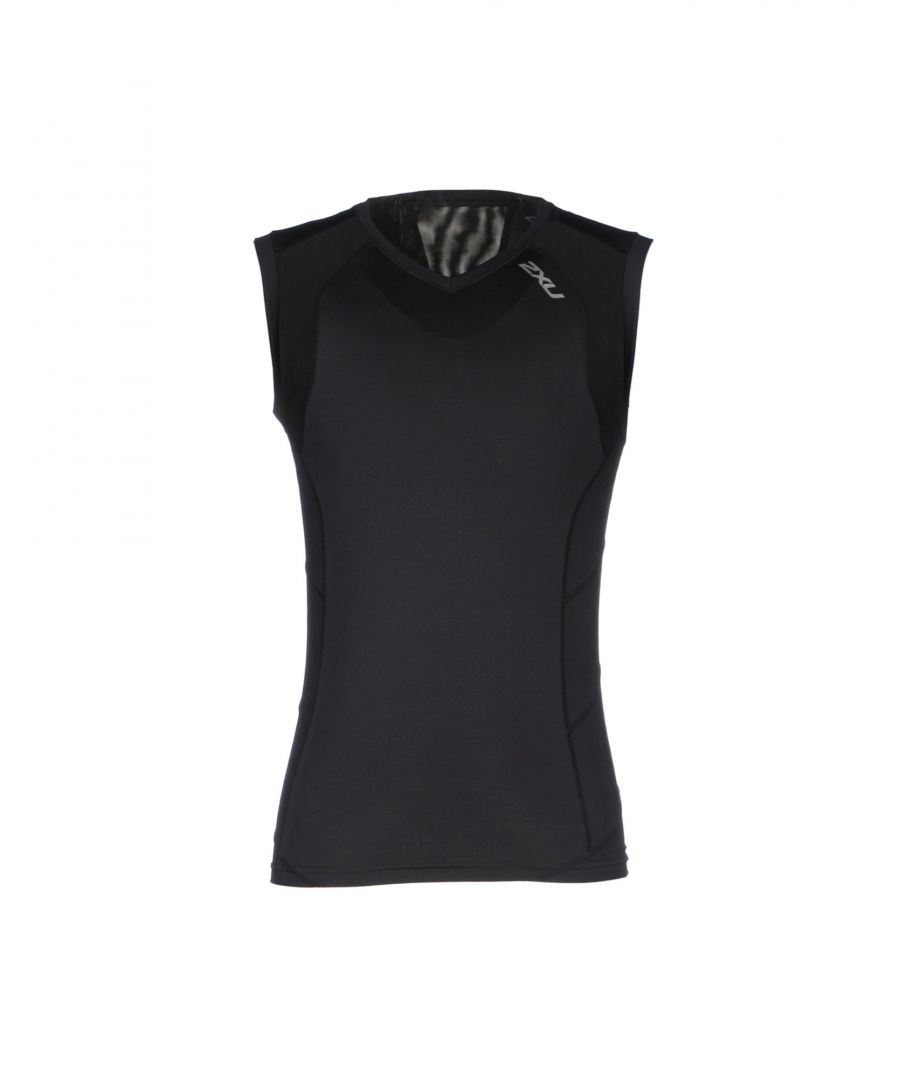 Image for TOPS & TEES 2Xu Black Man Nylon