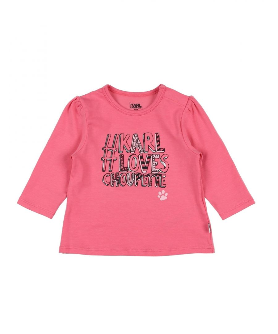 Image for TOPWEAR Karl Lagerfeld Pink Girl Cotton