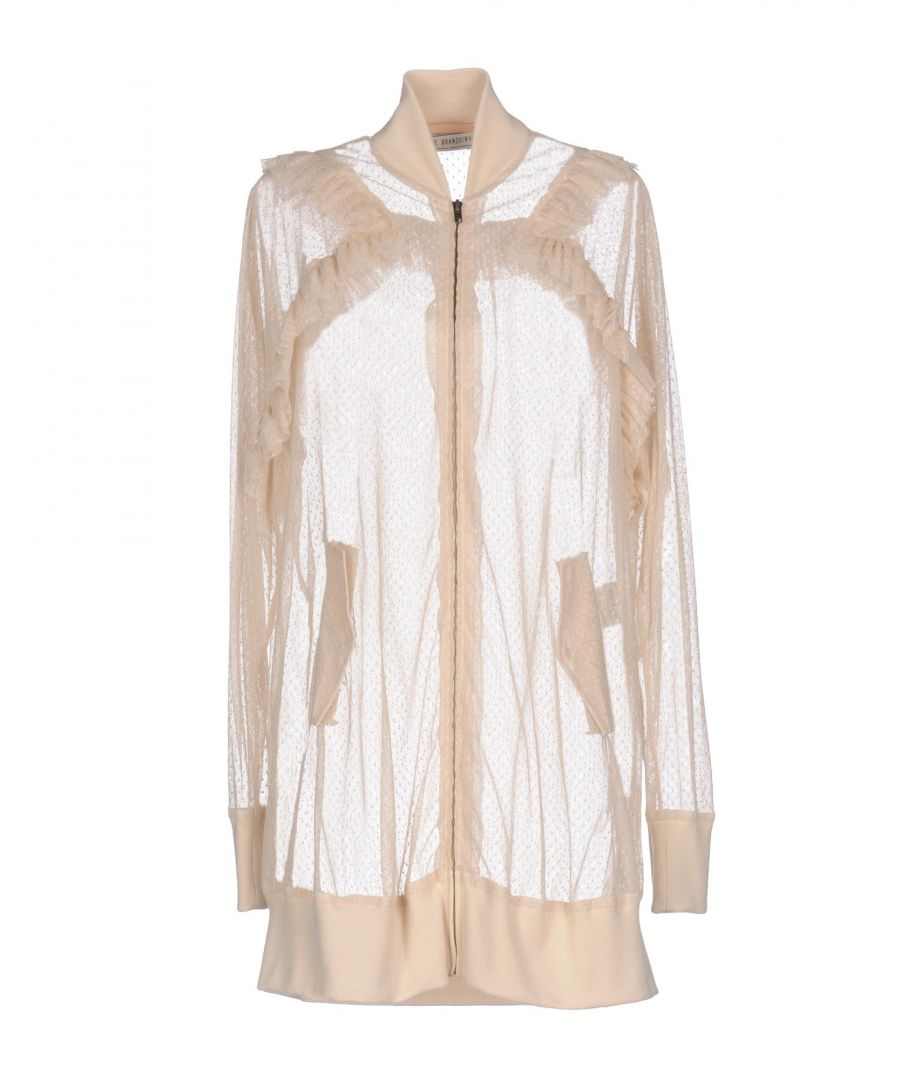 Image for Veronique Branquinho Ivory Cotton Tulle Bomber Jacket