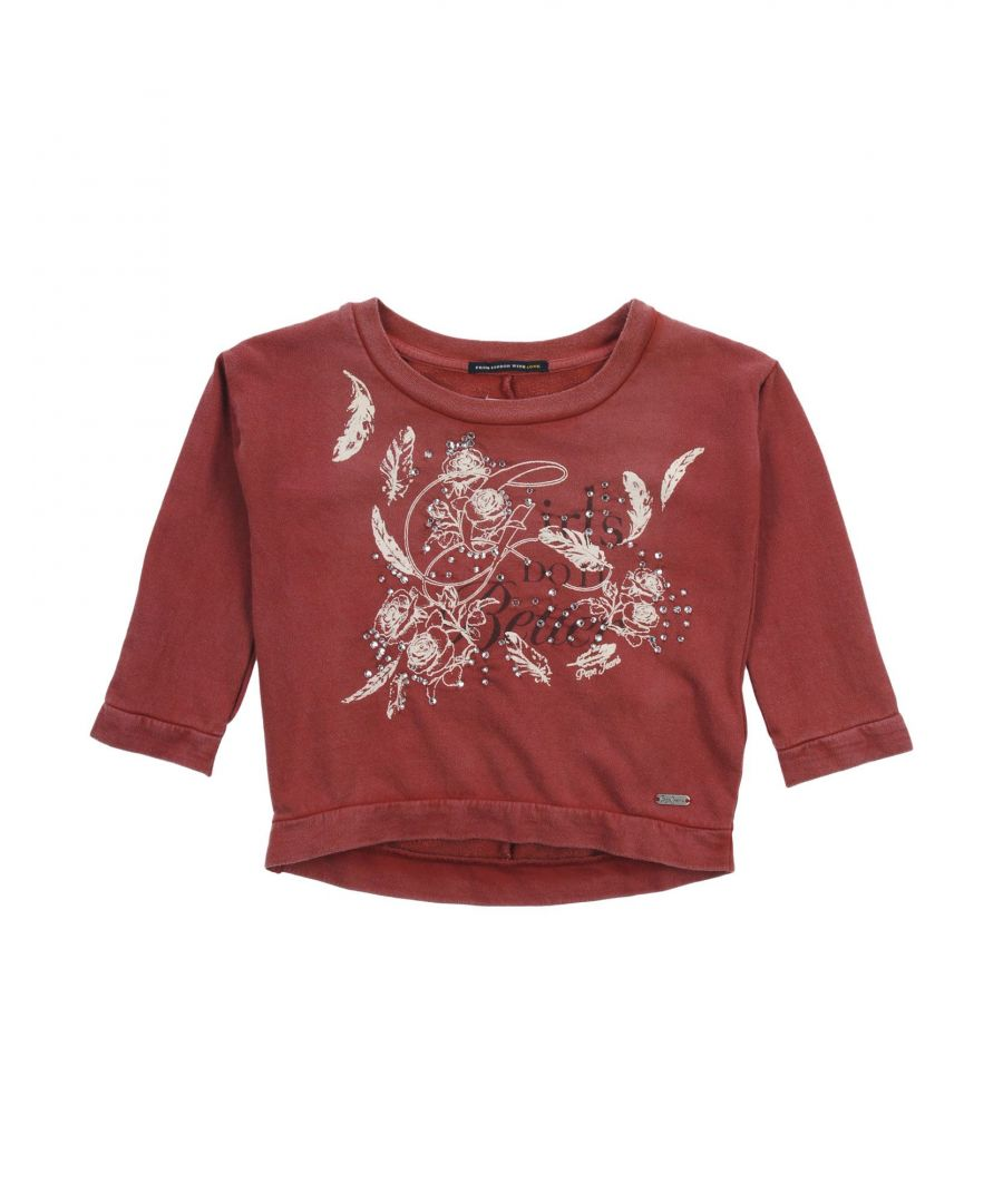 Image for TOPWEAR Pepe Jeans Brick red Girl Cotton
