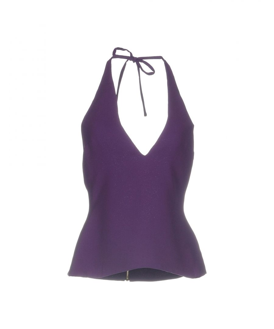 Image for Gareth Pugh Purple Polyester Top