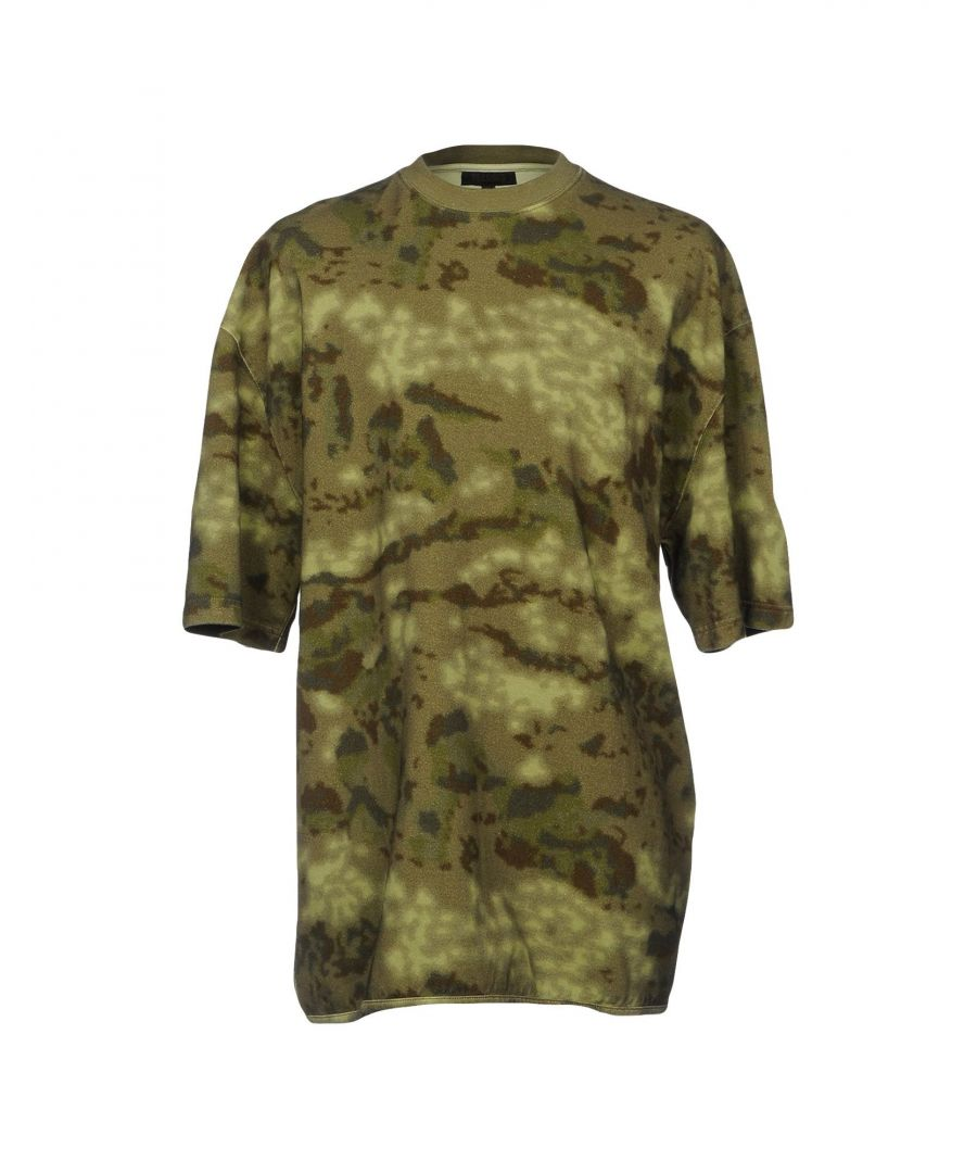 Image for Yeezy Military Green Cotton T-Shirt