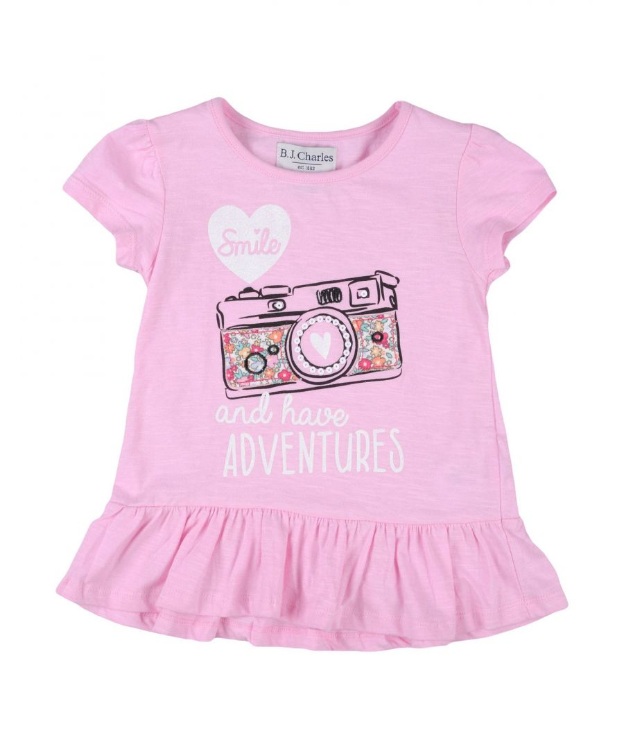 Image for TOPWEAR B.J.Charles Pink Girl Cotton