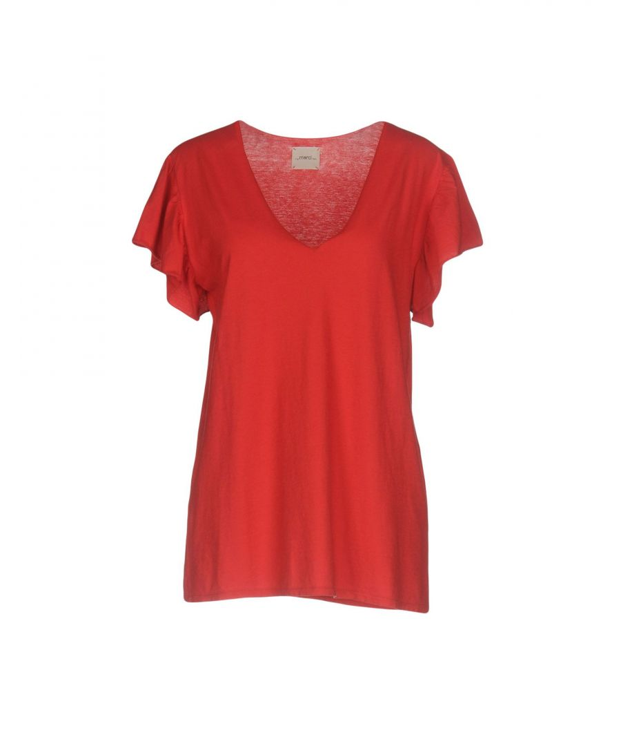 Image for TOPWEAR ..,Merci Red Woman Cotton