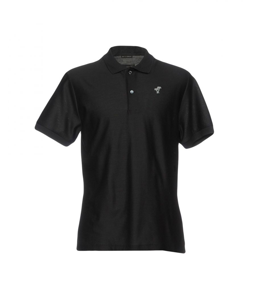 Image for Marc Jacobs Black Cotton Polo Shirt