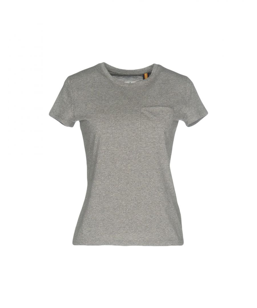 Image for K-Way Grey Cotton Jersey T-Shirt