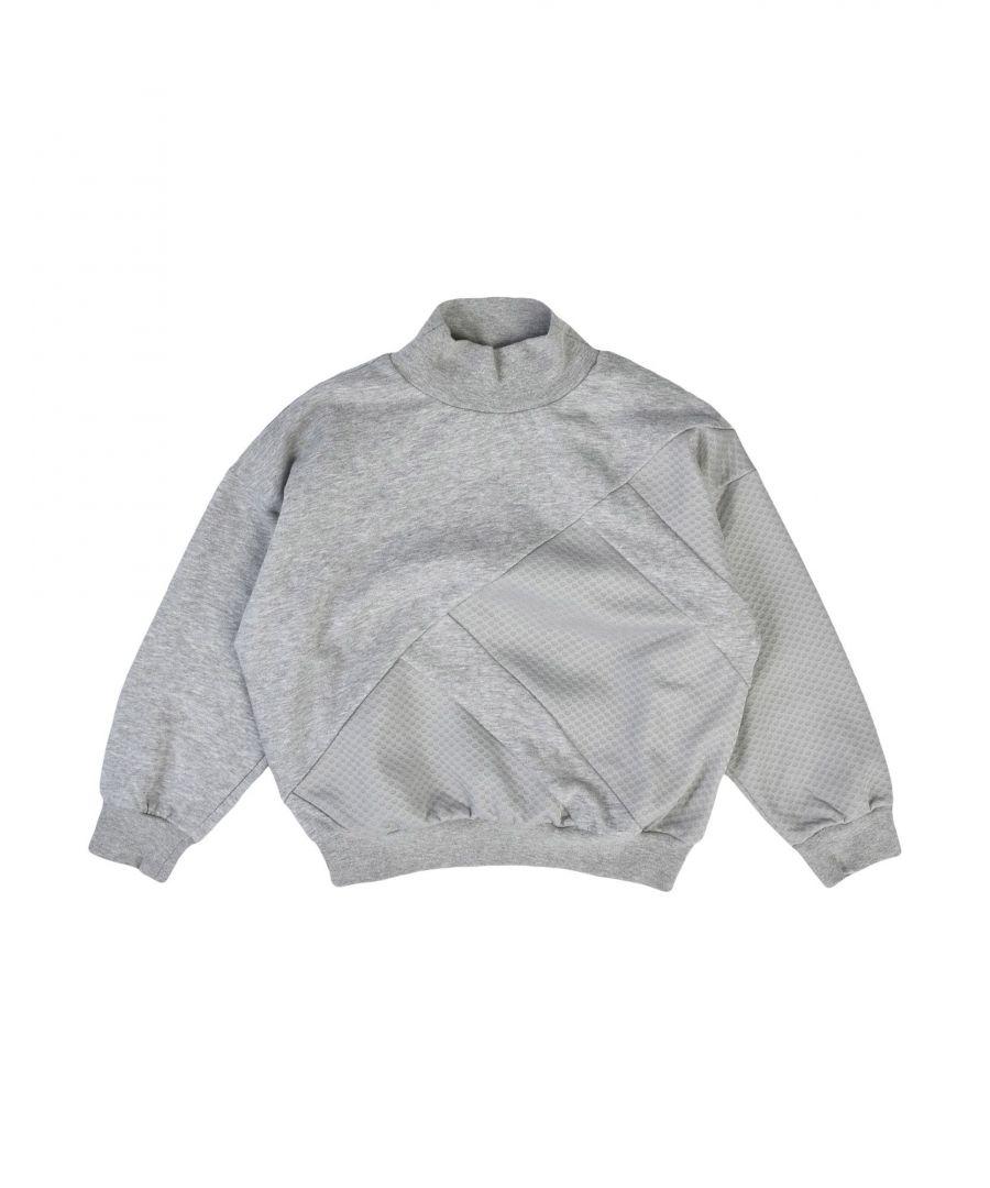Image for TOPWEAR Girl Adidas Originals Grey Cotton