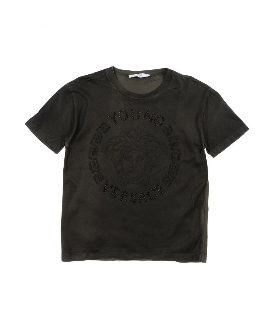 Image for TOPWEAR Versace Young Dark brown Boy Cotton
