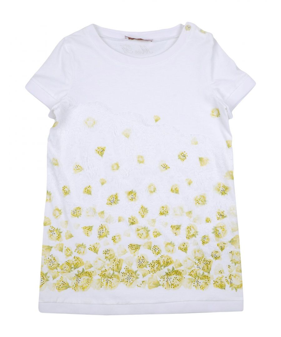 Image for TOPWEAR Miss Blumarine White Girl Cotton