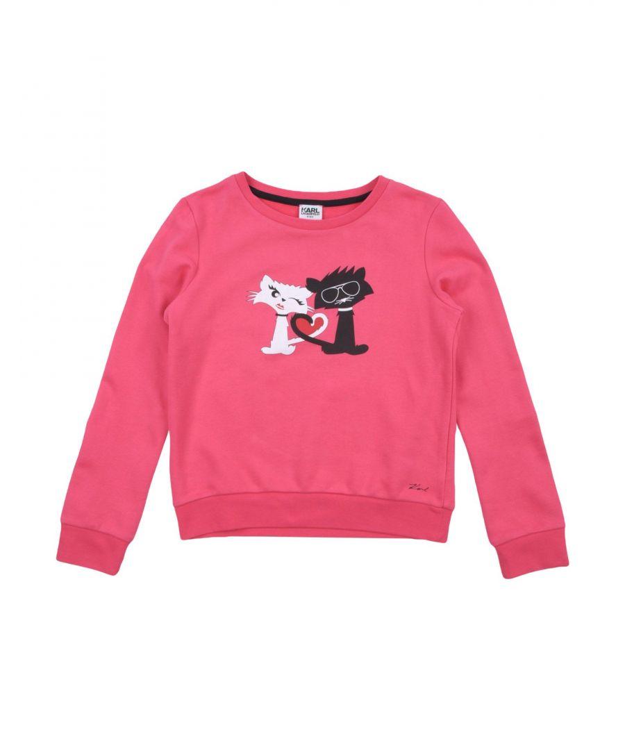 Image for TOPWEAR Karl Lagerfeld Fuchsia Woman Cotton