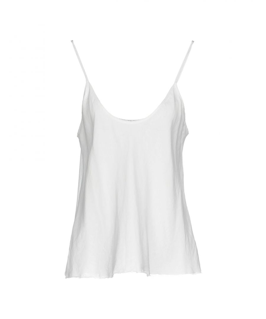 Image for Liviana Conti White Cotton Camisole