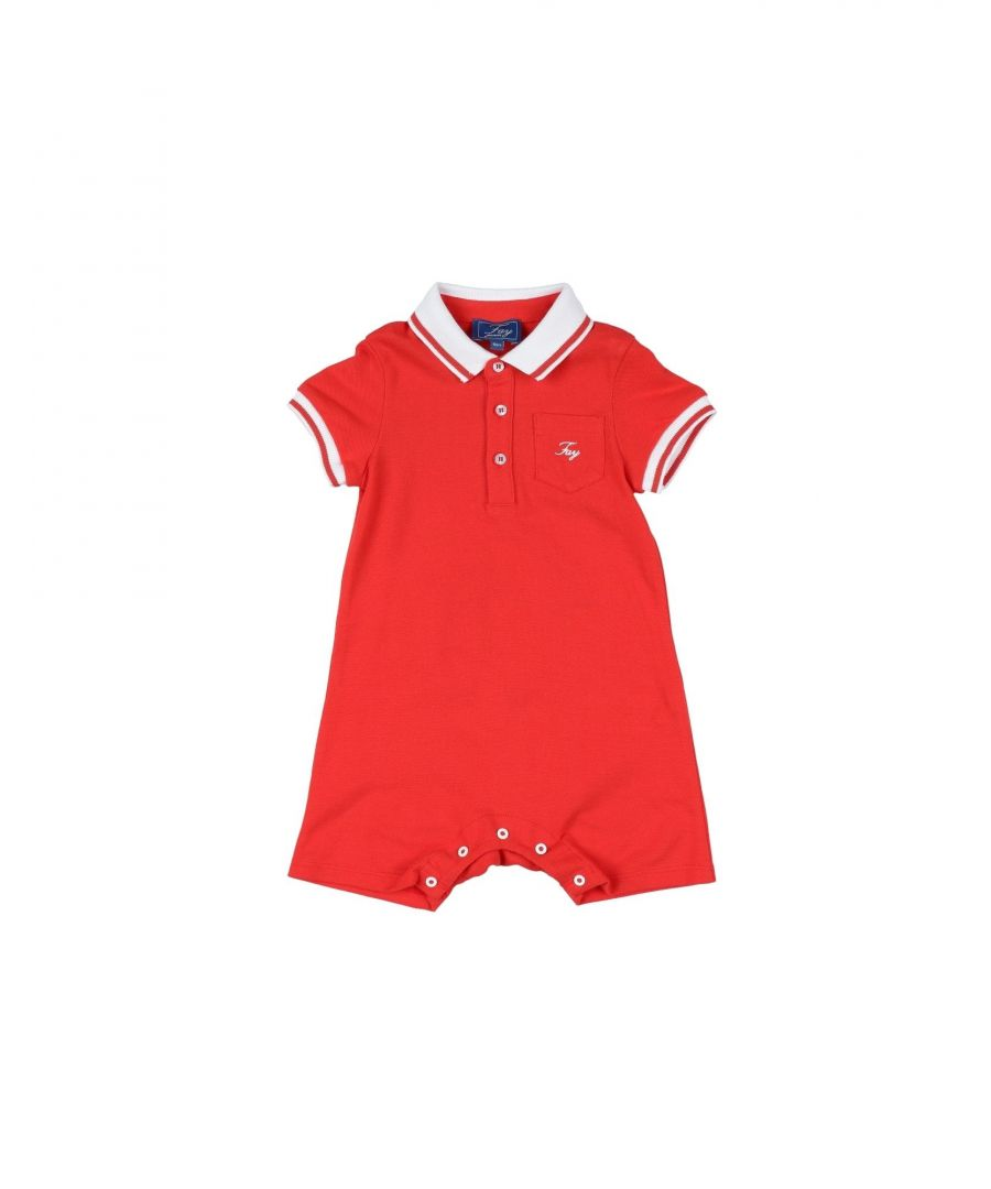 Image for BODYSUITS & SETS Fay Red Man Cotton