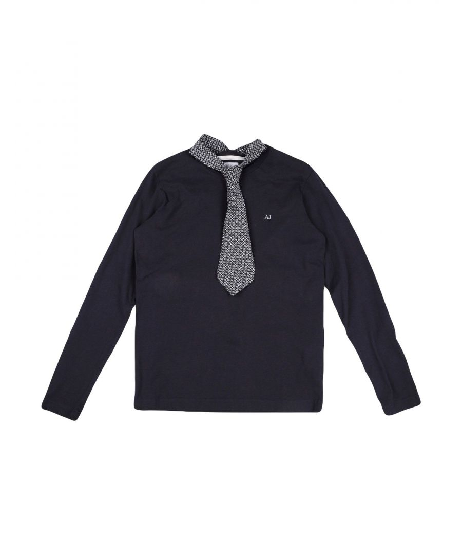Image for TOPWEAR Armani Junior Dark blue Boy Cotton