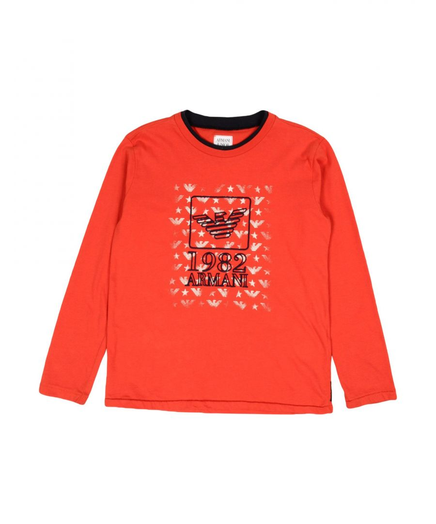 Image for TOPWEAR Armani Junior Red Boy Cotton