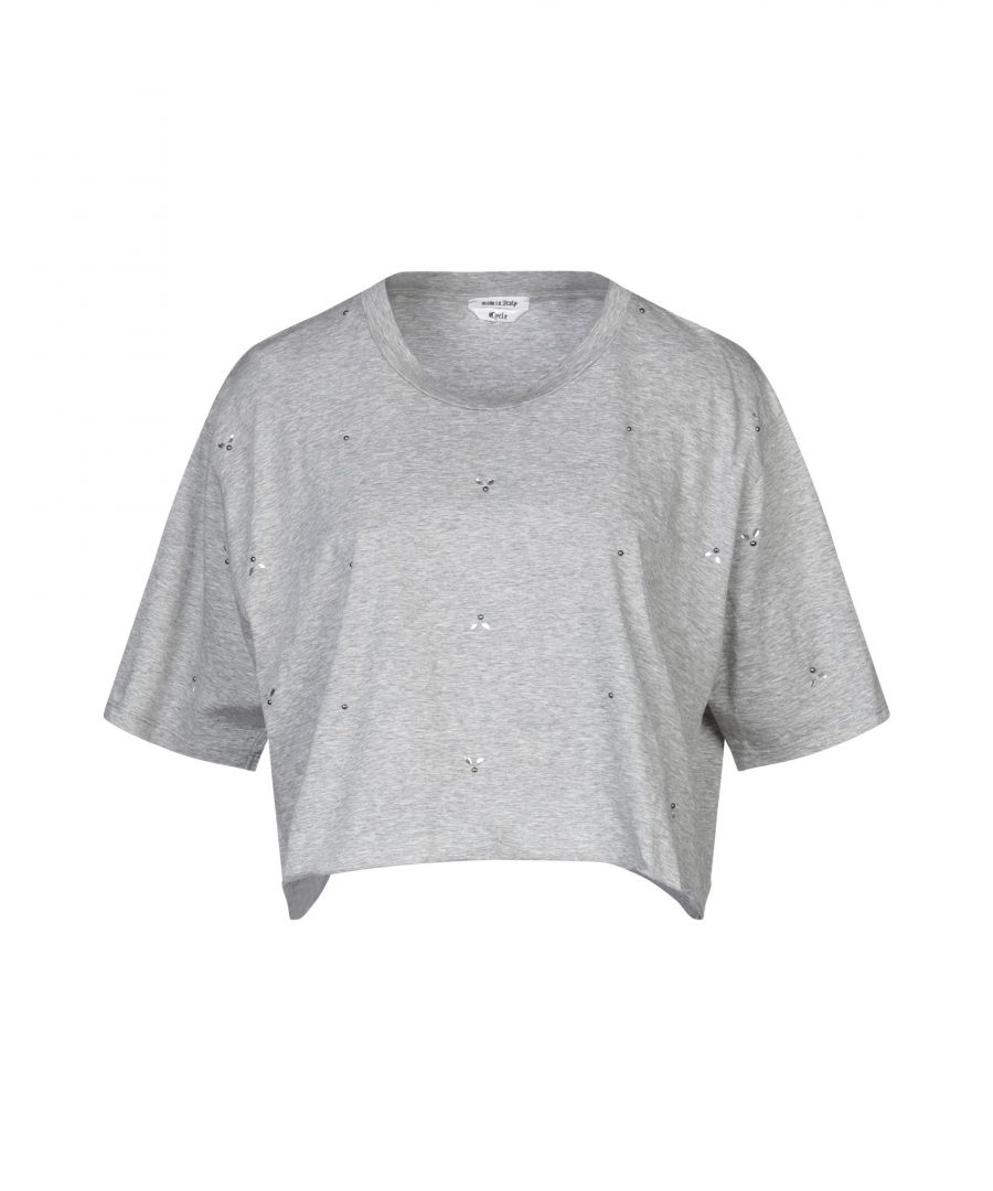 Image for Cycle Grey Cotton Jersey T-Shirt