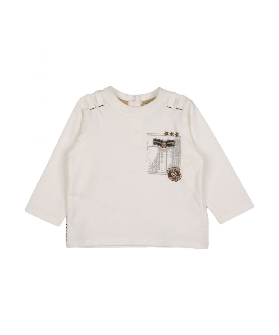 Image for TOPWEAR Armani Junior Ivory Boy Cotton