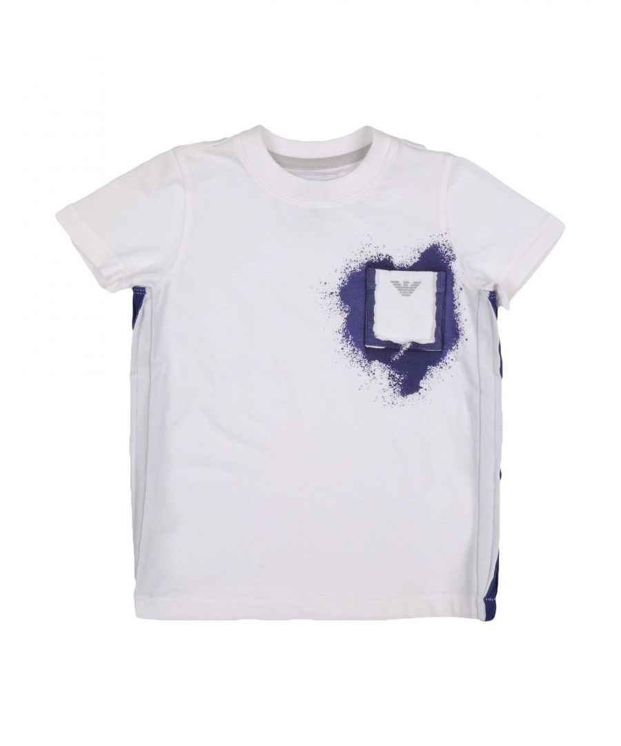 Image for TOPWEAR Armani Junior White Boy Cotton