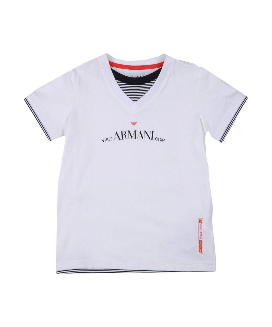 Image for TOPWEAR Armani Junior Purple Boy Cotton