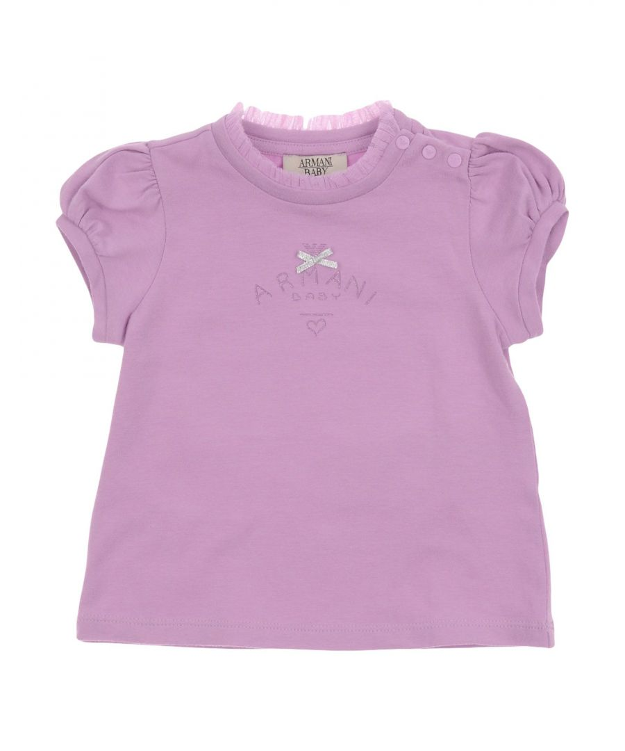 Image for TOPWEAR Armani Junior Dark blue Girl Cotton