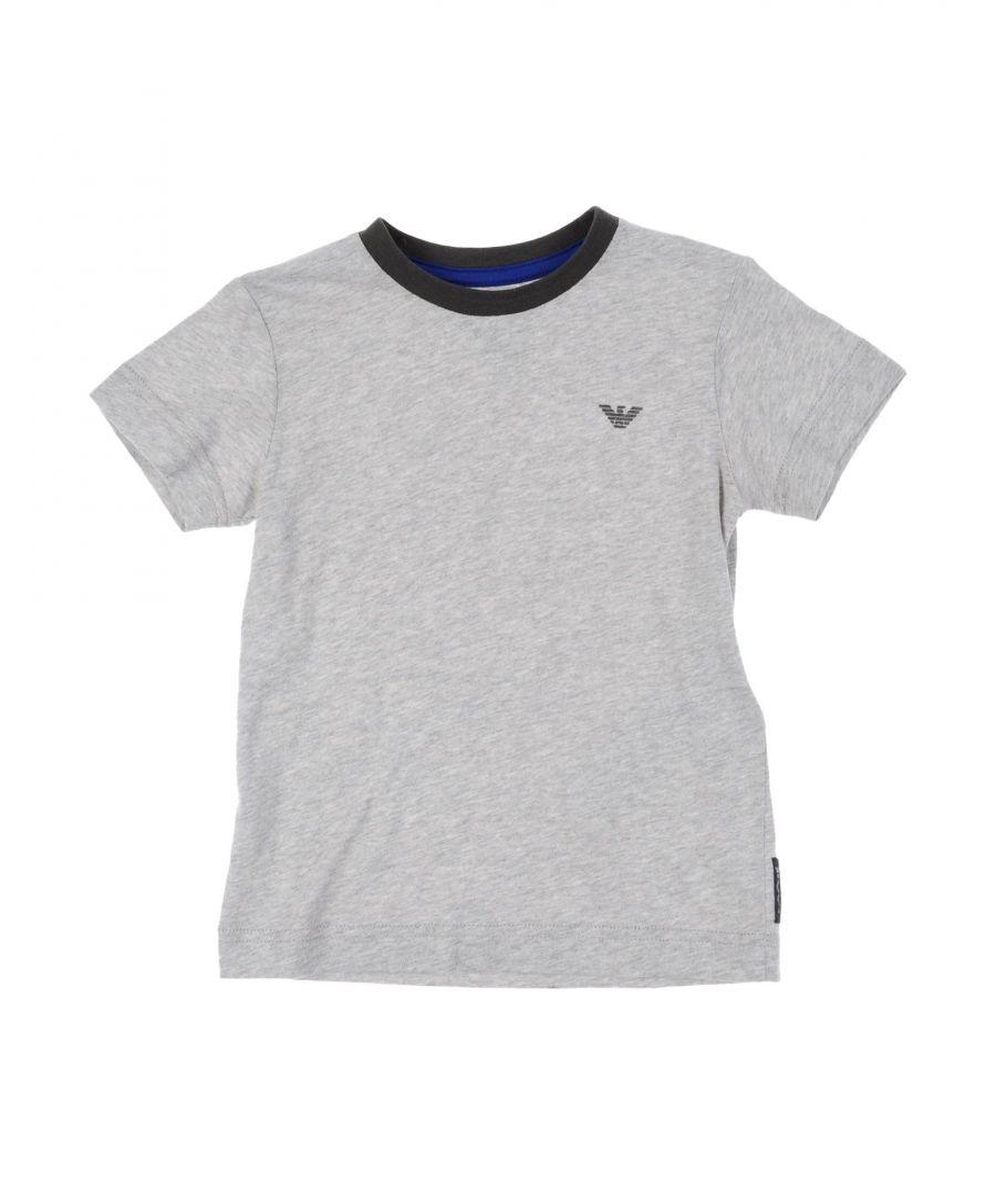 Image for TOPWEAR Armani Junior Light grey Boy Cotton