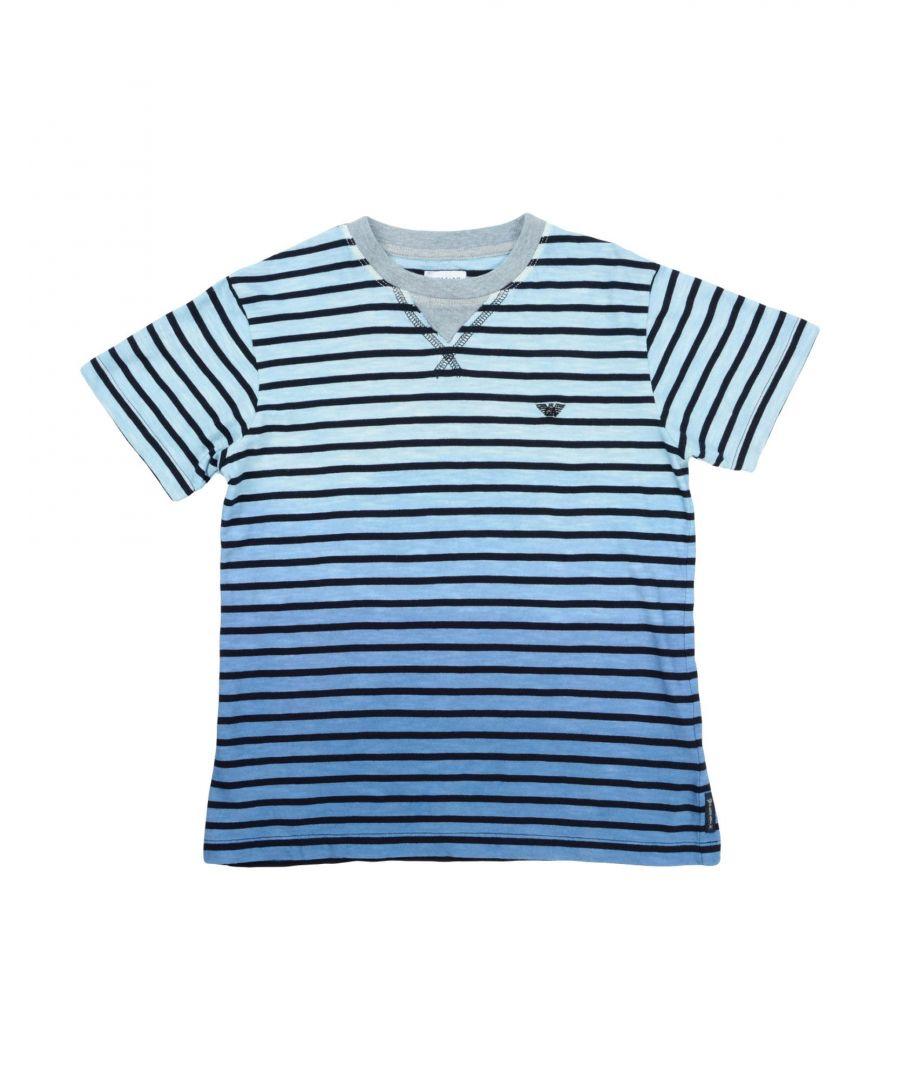 Image for TOPWEAR Armani Junior Sky blue Boy Cotton
