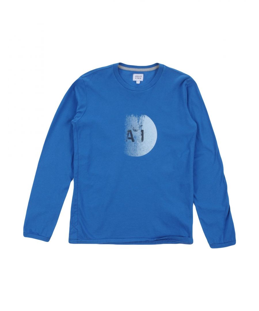 Image for TOPWEAR Armani Junior Blue Boy Cotton