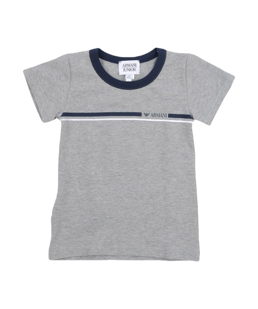 Image for TOPWEAR Armani Junior Grey Boy Cotton