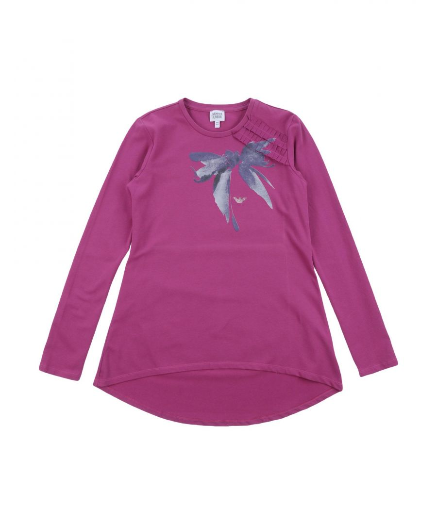Image for TOPWEAR Armani Junior Garnet Girl Cotton